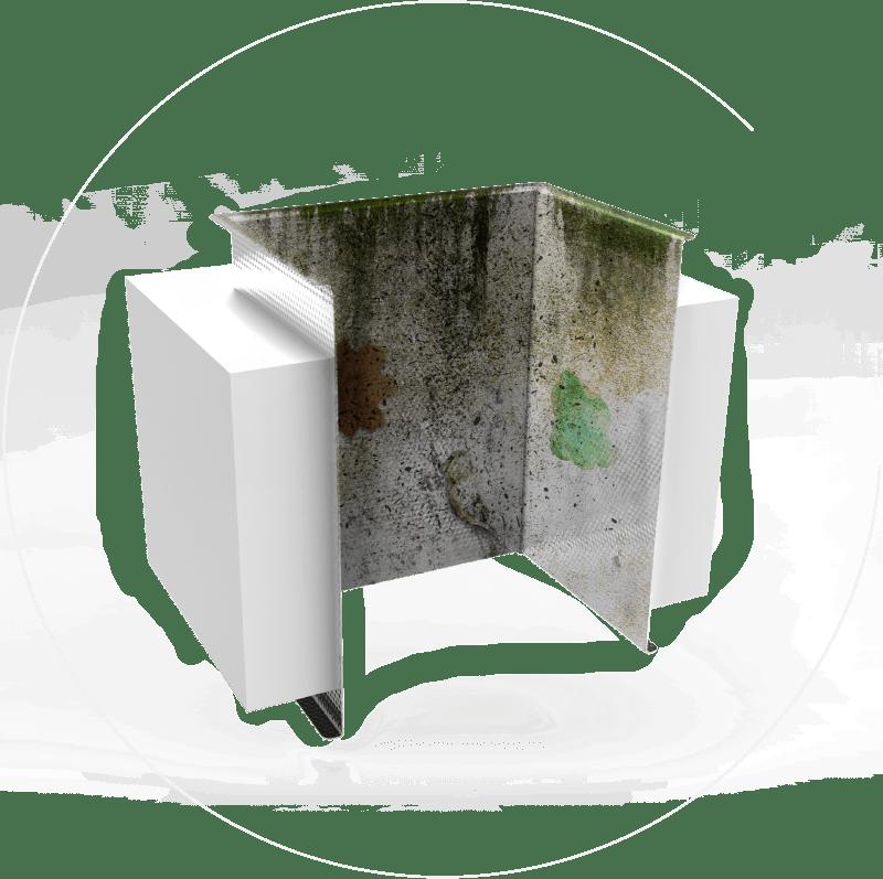 Znečištěné potrubí v panelových domech obsahuje bakterie, viry, prach, mastnotu nebo i uhynulá zvířata.